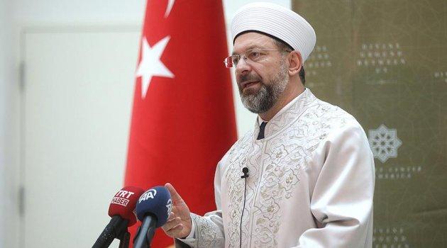 ALİ ERBAŞ: Erbaş: İslam'ın en doğru şekilde anlatılması için çalışacağız