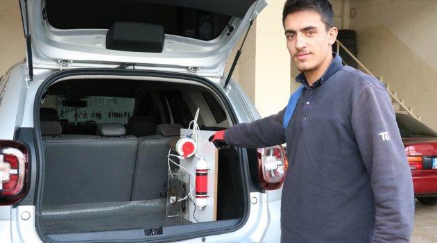 Araçların yüzde 50 suyla çalışmasını sağlayan sistem geliştirildi