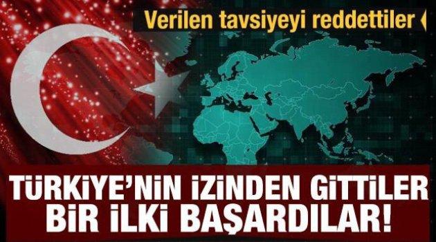Cezayir verilen tavsiyeyi reddetti... 'Türkiye'nin izinden gittiler'