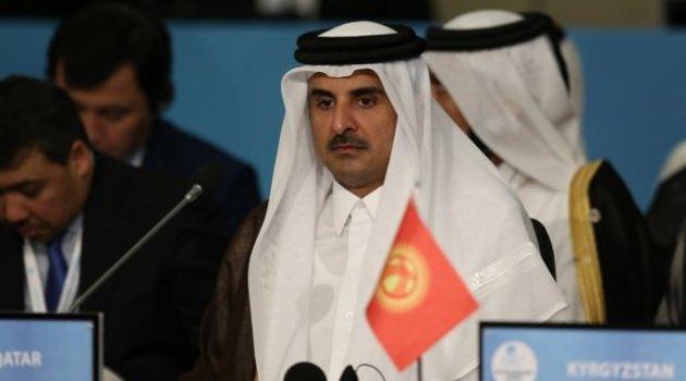 Katar Emiri'nden Tahran'a sürpriz ziyaret!