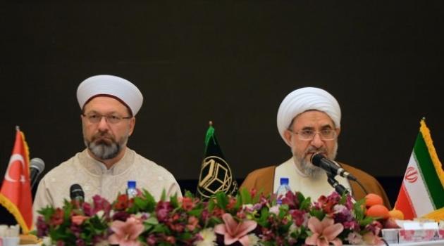 Erbaş İran'da uyardı: Akan kandan biz mesulüz!