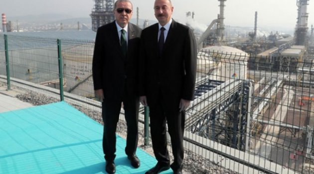 Erdoğan ile Aliyev arasında basına kapalı görüşme