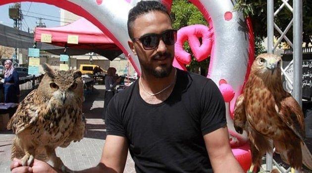 Filistin'de çiçek ve kuş fuarı açıldı