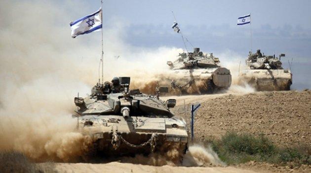 İsrail ordusu Gazze sınırına zırhlı araç konuşlandırdı
