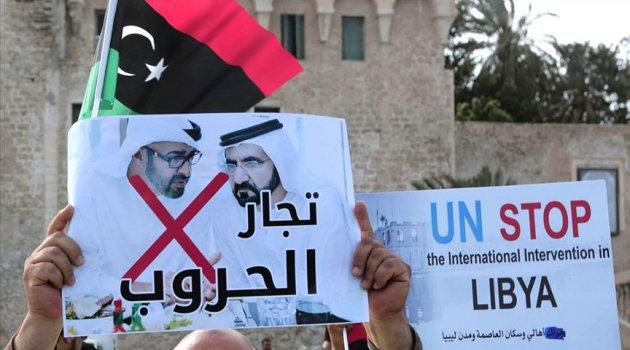 JONATHAN FENTON HARVEY: BAE 'bağımsız ve istikrarlı' Libya çabalarını baltalıyor