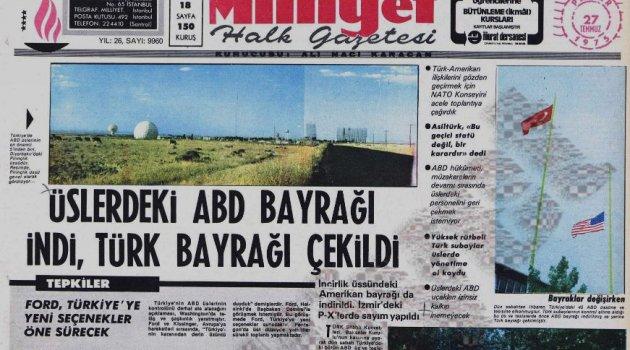 MUSTAFA YÜREKLİ: Türkiye ABD üslerini 25 Temmuz 1975'te nasıl kapattı?