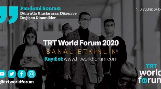 TRT World Forum 2020 dünyaca ünlü isimleri bir araya getiriyor