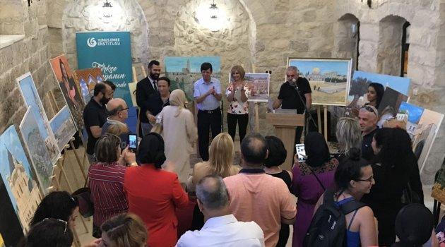 Nasıralı ressamlar Kudüs'te buluştu