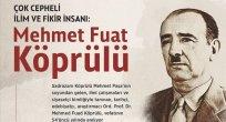 FATİH TÜRKYILMAZ: Çok cepheli ilim ve fikir insanı Mehmet Fuad Köprülü