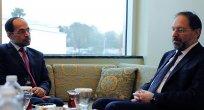 Erbaş, Amerikan İslam İlişkileri Konseyi Başkanı ile görüştü