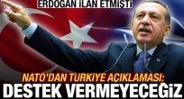 Erdoğan ilan etmişti! NATO açıklama yaptı: Türkiye'ye destek vermeyeceğiz..