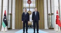 Libya Başbakanı Dibeybe Ankara'da