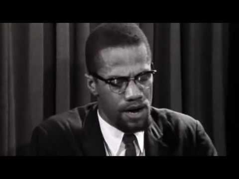 Malcolm X Hac dönüşü açıklama yapıyor