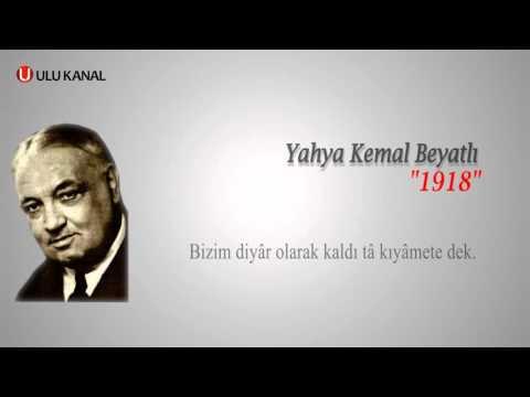 Yahya Kemal Beyatlı - 1918
