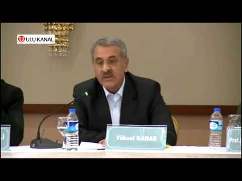 Yüksel Kanar - Diriliş Dünya Görüşü ve Sezai Karakoç Sempozyumunda Konuşuyor